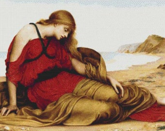 Ariadne in Naxos PDF Cross Stitch Pattern