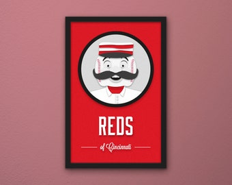 Cincinnati Reds Print