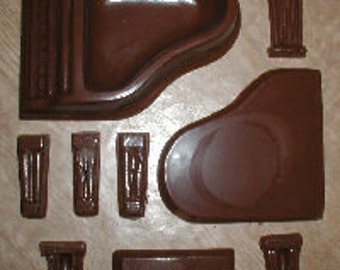 Piano 3D Assembly Chocolate Mold
