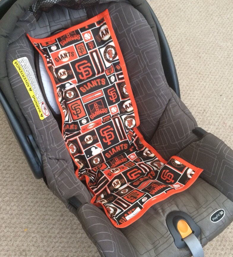 car seat cooler giants new print themed ready to ship. Black Bedroom Furniture Sets. Home Design Ideas