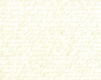 Passport by 3 Sisters - Love Letters - 1/2yd