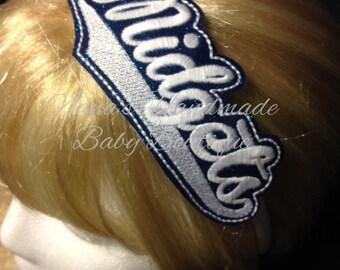 Midgets - Team Headband Slip On  - DIGITAL EMBROIDERY DESIGN