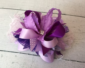 Shades of Purple bow