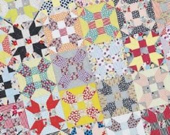 Gardenvale Stars Quilt Pattern - Jen Kingwell - Jen Kingwell Designs - JKD 5163
