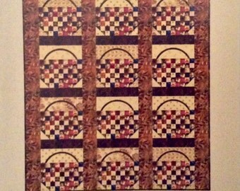 Shaker Basket Quilt Pattern - Edyta Sitar - Laundry Basket Quilts - LBQ-0361