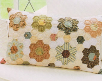 No.74 PDF Pattern Ebook Classic quilt sewing stitch Pillow Cushion Case