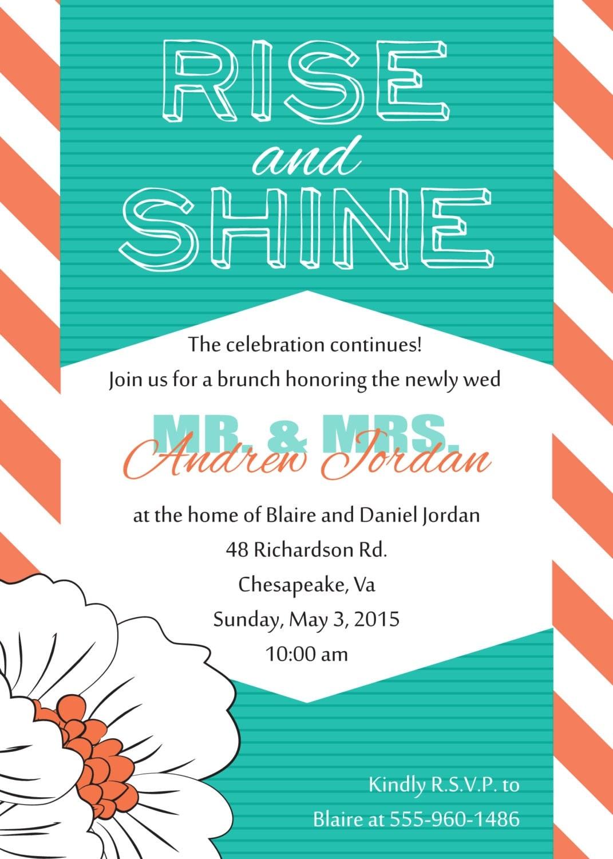 wedding brunch invitations - broprahshow, Wedding invitations
