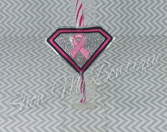 Super Logo Ribbon Headband Slider design Instant Download