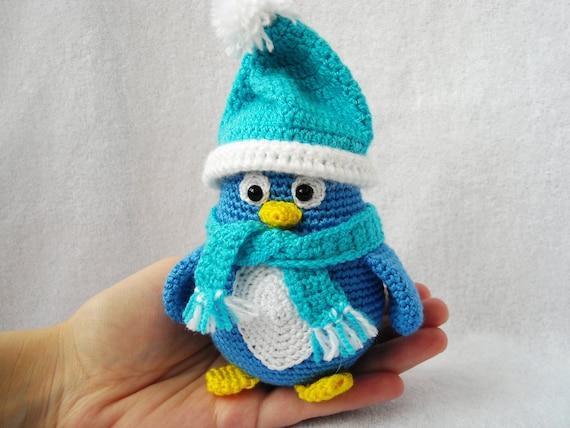Tutorial Amigurumi Pinguino : amigurumi penguin stuffed penguincrochet penguin by ...