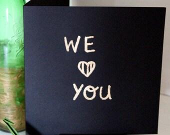 EKone - We love you - Card