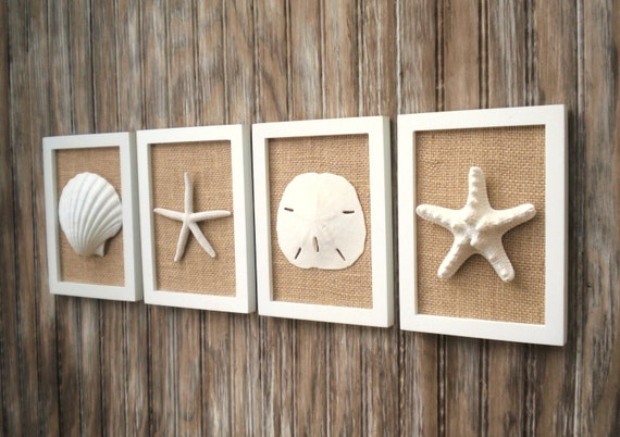 Beach Cottage Chic Wall Art Nautical Decor Beach House Wall Decor