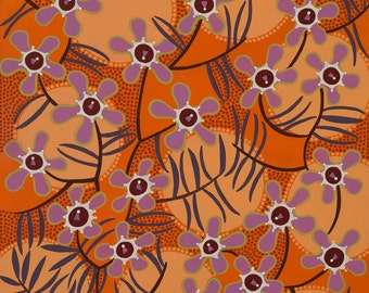 Geraldton Wax Flower Paper Print