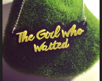 Doctor Who Inspired Amelia Pond The Girl Who Waited Acrylic Necklace