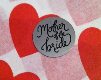 Mother of the Bride Locket Plate for 30mm LARGE locket