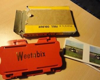 rare 1962 Weetabix promotional 3D viewfinder