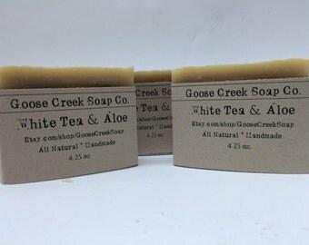 White Tea and Aloe Soap