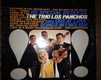Trio Los Panchos By Special Request - Sing Great Love Songs In English - vinyl record