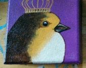 Purple Princess Bird