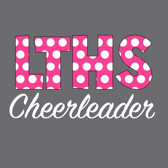 Cheerleader Car Decal Inch Personalized Girls Monogram - Car sticker decal for girls