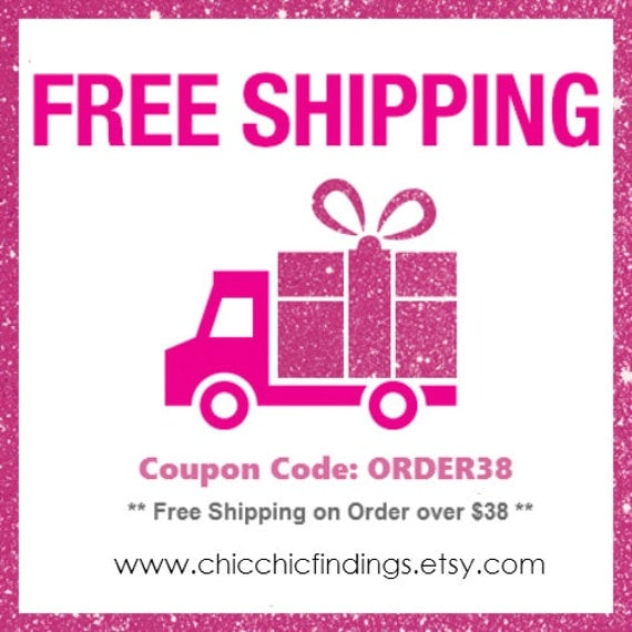 Etsy free shipping coupon code