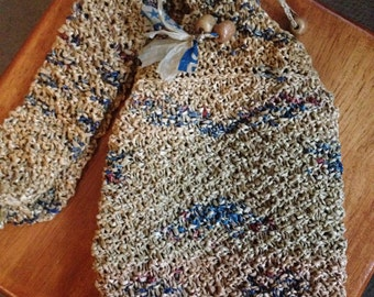 Just Reduced-Knitted Grocery Bags Purse