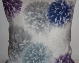 "John Lewis POM POM fabric cushion cover, pillow cover, 16"" x 16"" (41cm x 41cm)"