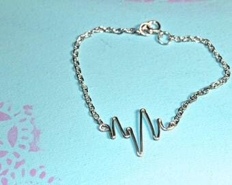 Heartbeat Bracelet, ekg Bracelet
