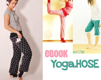 eBOOK # 72 Yoga.HOSE XS-XXXL only in german language