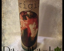 Celtic  Goddess Brigid Fixed 7 Day Candle Witchcraft Hoodoo Voodoo