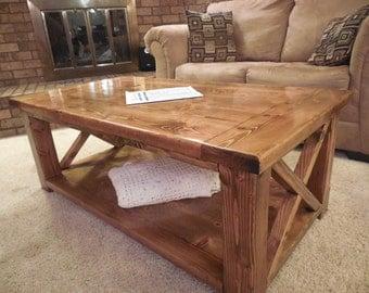 Sturdy Coffee Table Etsy