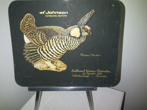 Vintage Johnson Outboard Motors Advertising 1950 S Prairie