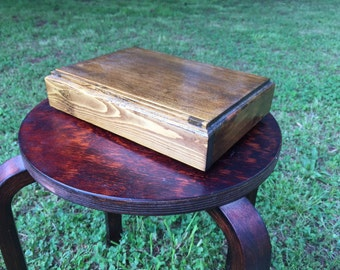 Handmade wooden box for storage/jewelry