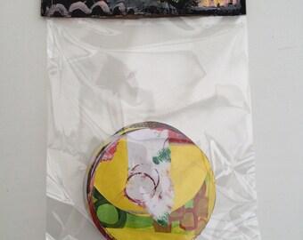 ART JOURNALING SCRAPBOOKING Craft Paper Supplies #16 Ooak