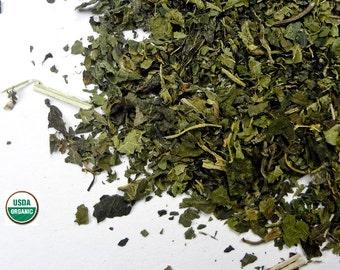 NETTLE LEAF - 8 oz. Cut and Sifted OrganicTea Herb Herbal Wiccan