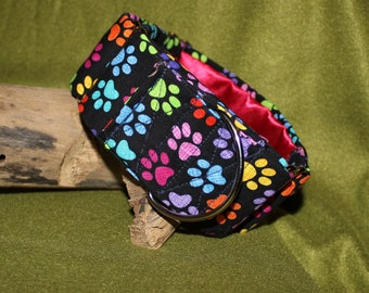 2in Fabric Covered Martingales with Satin Lining