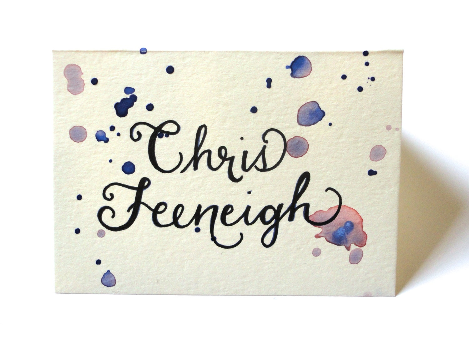 Custom Wedding Calligraphy Place Cards Escort By Thescribblist