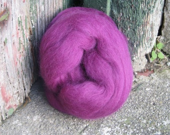 SALE Merino Wool Roving/top 64's 23 Microns - DAMSON. For Spinning,Wet or Needle Felting, Craft Work.