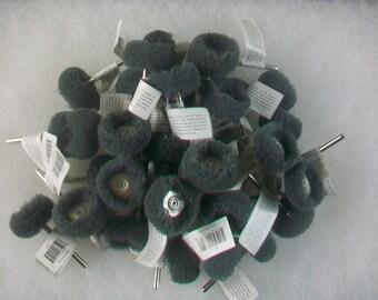Abrasive Wheel Buffing Polishing 300 Grit Use with Dremel Rotary Tool 36 pcs.