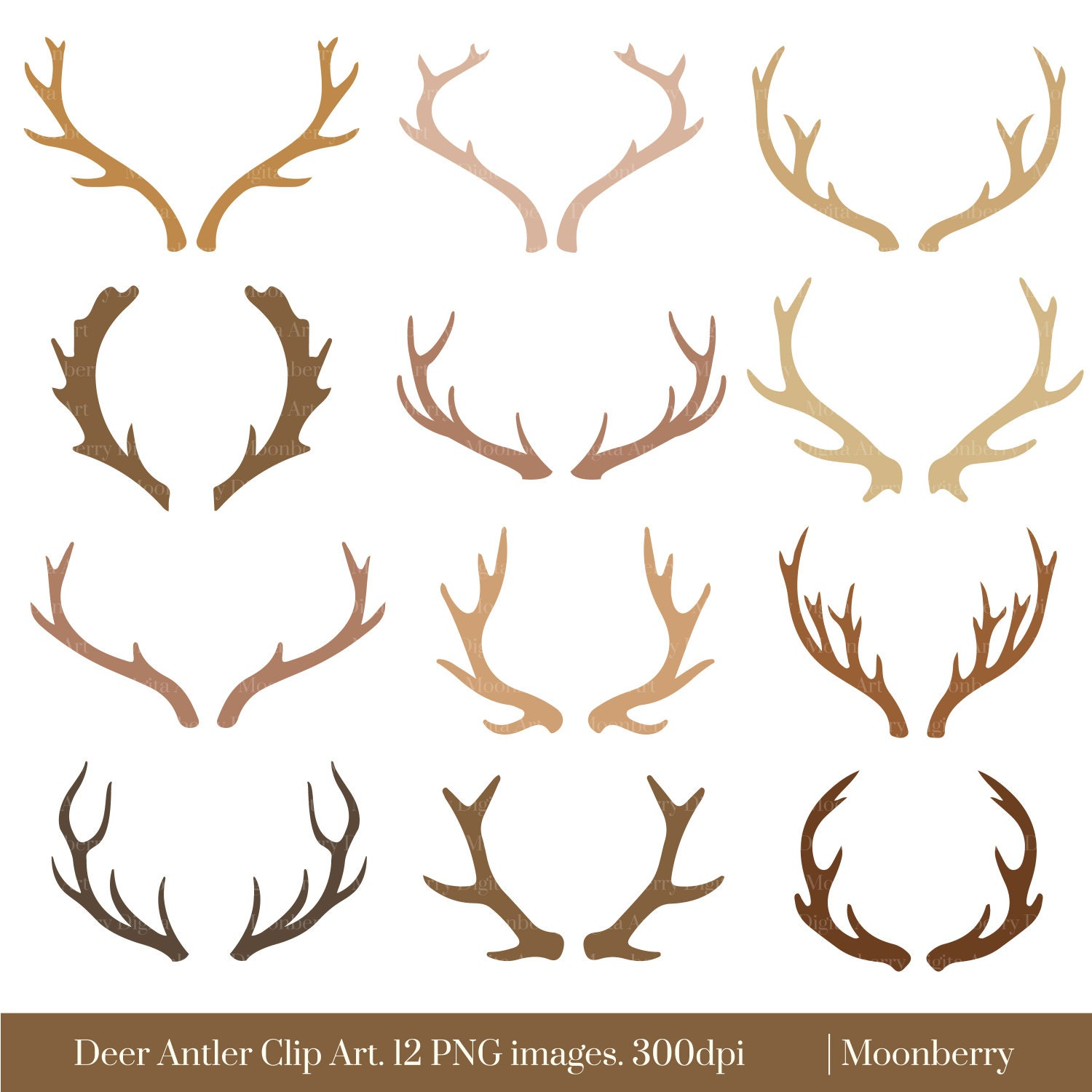 elk antlers graphic - photo #23