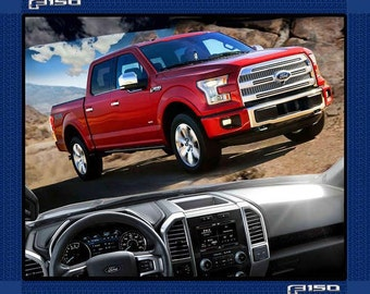 """Ford F150 2015 cotton panel -- approximately 35"""" x 44"""""""