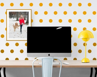 Polka Dot Wall Decal - Childs Room Wall Decor