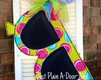 Sunglasses Door Hanger, Summer Door Hanger, Welcome Door Hanger, Bright