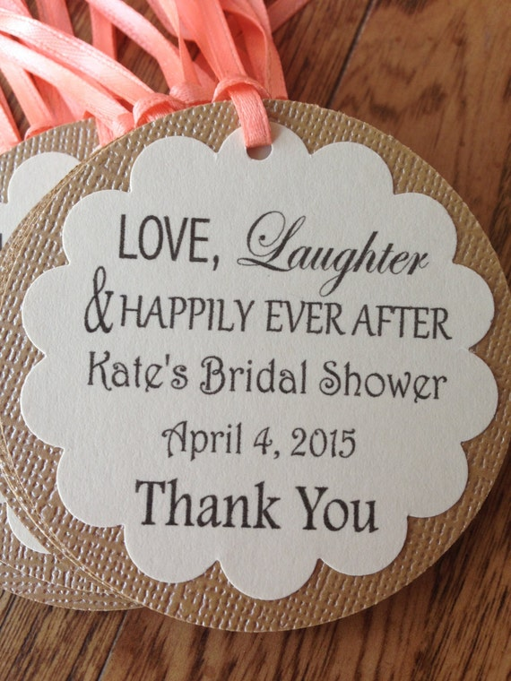 Favor Tags, Bridal shower tags, wedding tags, gift tags, wine tags ...