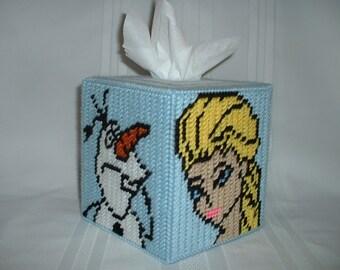 Frozen Tissue Box Cover