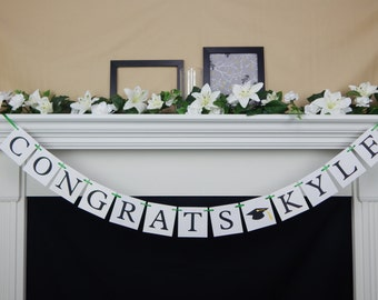 Congratulations banner, congrats sign, class of 2017 banner, graduation party, graduation party banner,congrats banner,graduation party sign