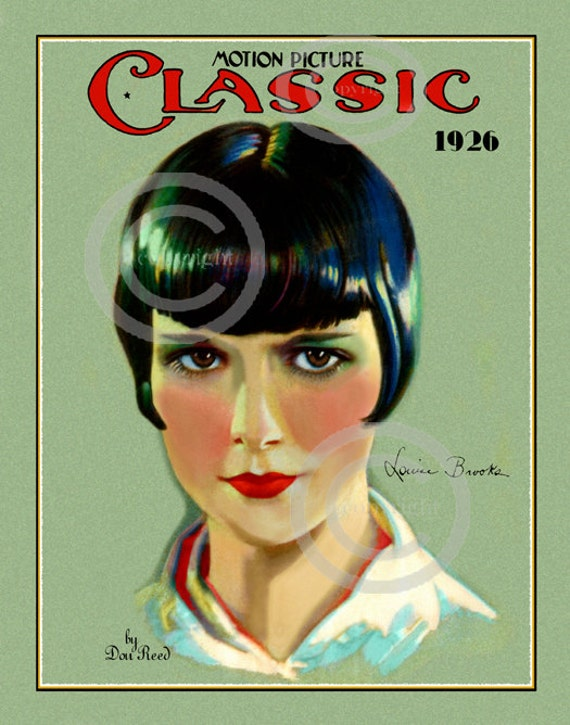 an analysis of the louise brooks and the flapper era Lulu in rochester: louise brooks and the ut of all the personalities of that era, louise brooks has rather than the 1920s flapper who played second.
