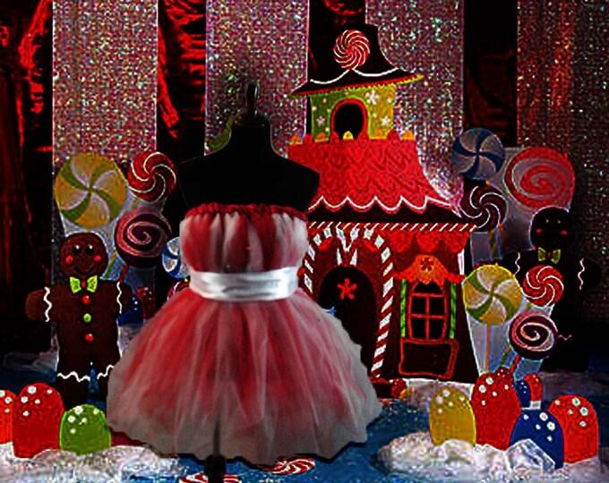 Full Figure Jingle All the Way Holiday Tutu