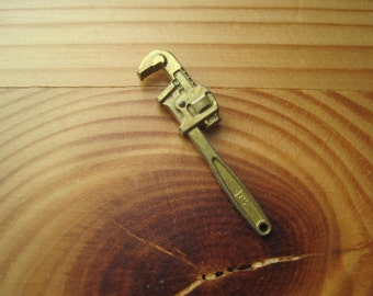 Vintage Miniature Wrench Charm