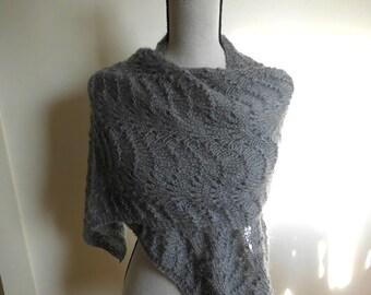 Knitting pattern Lace Waves Beginner Knitting Pattern Easy Lace