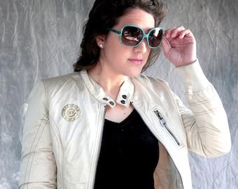 Sunglasses, Vintage Sunglasses, Vintage Eyewear, 80's sunglasses, Oversized sunglasses, Turquoise, Retro sunglasses, Big sunglasses, eyewear
